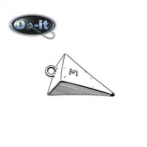 두잇몰드(DO-IT MOLD) 피라미드 싱커 몰드(3165,PM-5-AB)