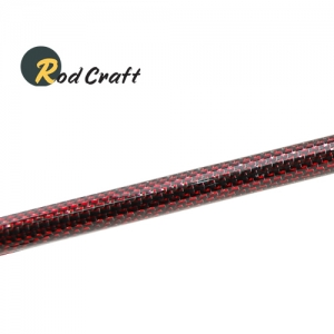 로드크래프트 블랭크대용 카본파이프(RWCK130)-레드패턴
