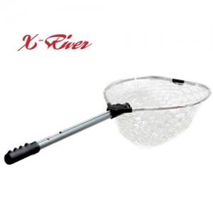 엑스리버(X-River) 러버 피싱 뜰채 (길이조절 가능)