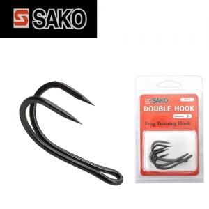 [세일)사코(SAKO) 프로그 튜닝용 더블훅(1팩3개)