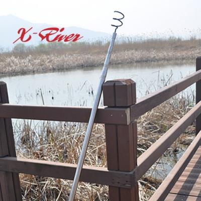엑스리버(X-River) 텔레스코픽 루어회수기-4단조절/최대3.8m사용가능 갸프 뜰채
