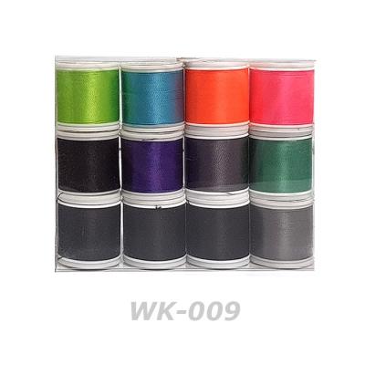 로드크래프트 나일론 래핑사 12종키트 (WK-009, D 사이즈, 100yd)
