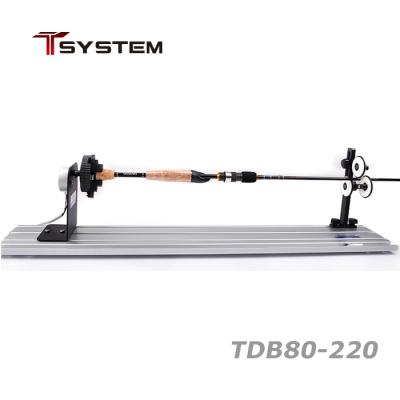 자드락 T-SYSTEM 건조기 세트 (TDB80-220) 3축 연동 자동센터링 척