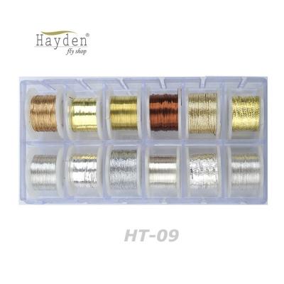 헤이든 틴셀 12스풀 모음 세트 (HT-09)