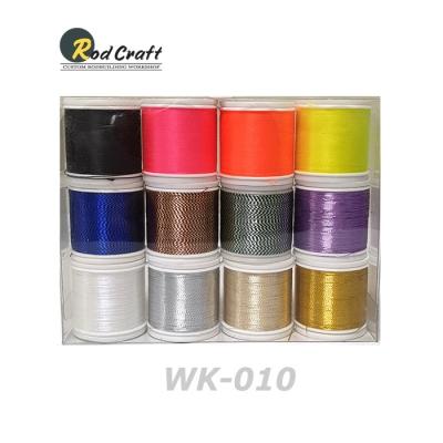 로드크래프트 나일론/메탈릭 래핑사 12종 키트(WK010) - D 사이즈, 100yd