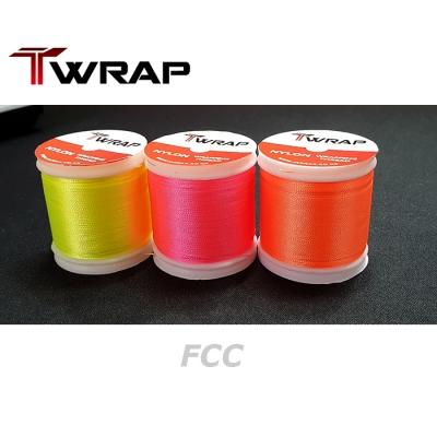 자드락 T-WRAP FC컬러 나일론 래핑사 (FCC)  - C사이즈, 80m , 낱개판매