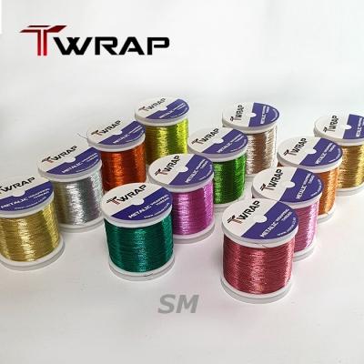 자드락 T-WRAP 스파클 메탈릭 래핑사 (SM) - A사이즈, 150m , 낱개판매